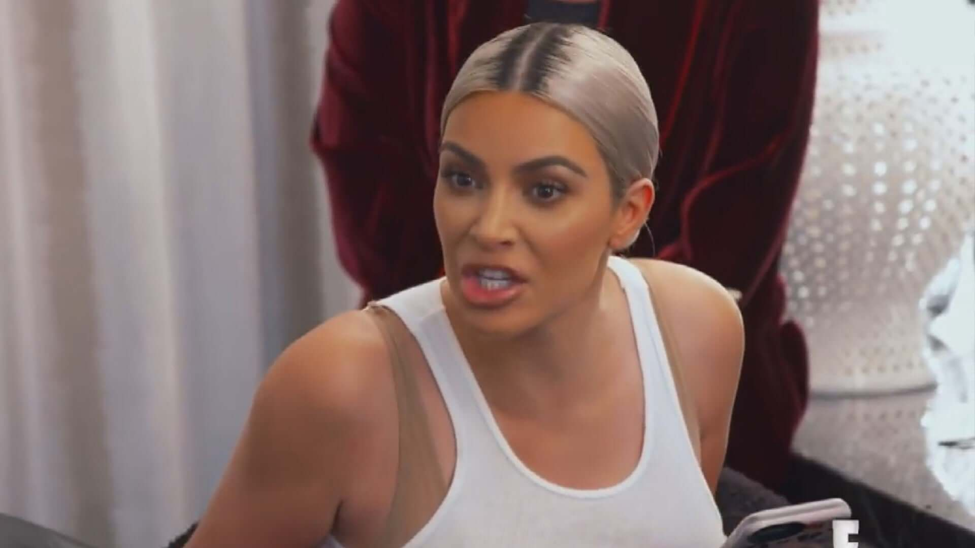 Kim Kardashian Claps Support at Criticism Over Sister Screaming Match in 'KUWTK' Teaser
