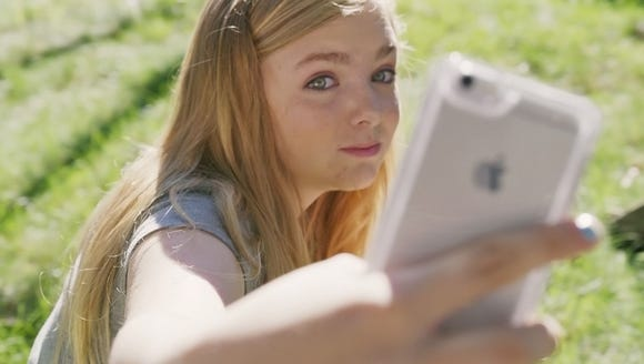 In 'Eighth Grade,' Elsie Fisher performs an frightened tween