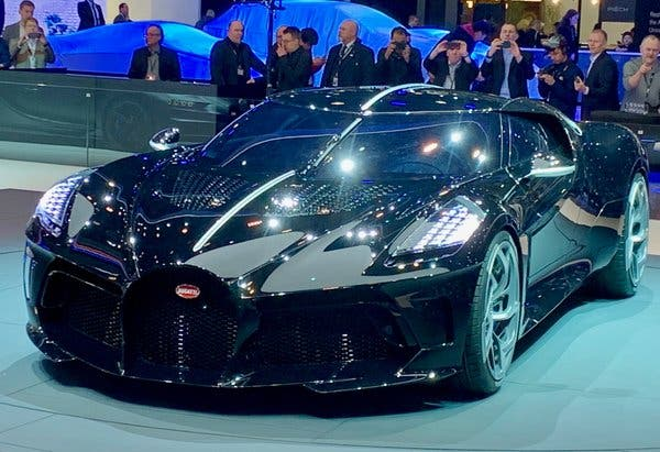 Bugatti unveiled a original $5.eight million supercar and or no longer it is already sold out