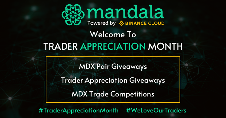 World's First Ever Official Trader Appreciation Month By Mandala.Exchange Has Investors Blushing & Buzzing